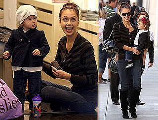 Photos of Jessica Alba and Honor Warren Shopping Together in LA