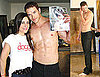 Photos of Kellan and Dog
