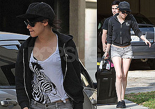 Photos of New Moon's Kristen Stewart Wearing Short Shorts Around LA