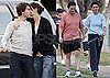 Photos of Tom Cruise And Katie Holmes Running And Kissing in Boston