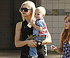 Photo Slide of Gwen Stefani With Zuma at an LA Park