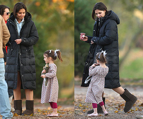 Photos of Katie Holmes and Suri Cruise in Long Island