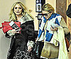 Slide Photo of Mary-Kate and Ashley Olsen Leaving LAX
