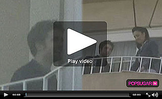 Video of Robert Pattinson Out on His Balcony in LA