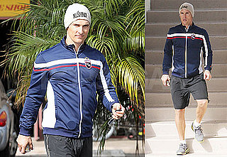 Photos of Matthew McConaughey as He Leaves the Gym Wearing a Beanie in Malibu