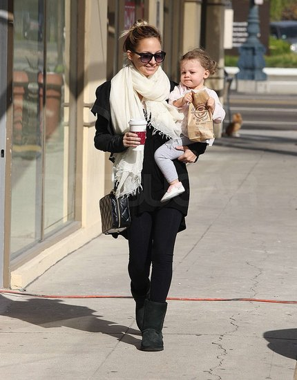 Photos of Nicole and Harlow in LA
