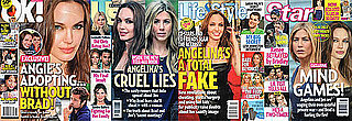 Angelina on Four Weekly Magazine Covers — Is Something Big Going On With Her?