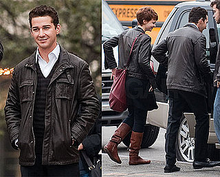 Photos of Shia LaBeouf, Michael Douglas, and Carey Mulligan on the Set of Wall Street 2