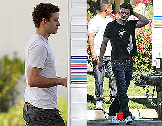 Photos of Justin Timberlake on the Set of The Social Network 2009-11-11 16:30:00