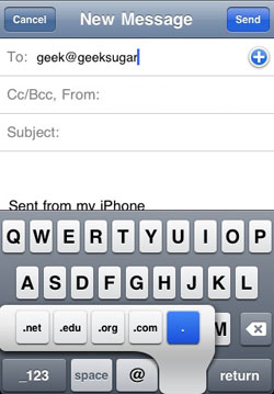 iPhone Typing Shortcuts