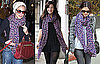 Sienna Miller, Rachel Bilson and Liv Tyler Wear Louis Vuitton's Colorful Leopard Scarf