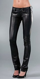 The Look For Less: Paige Denim Black Label Skinny Leather Pants