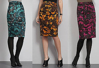 Fab Finger Discount: New York & Co. Floral Pencil Skirt