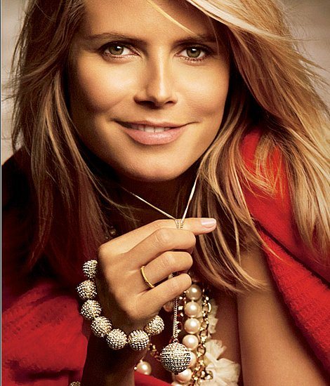 Ann Taylor Fall &#039;09 Look Book With Heidi Klum
