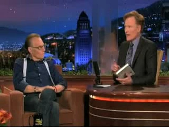 Larry King on Conan O&#039;Brien