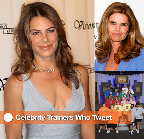Celebrity Trainers Who Use Twitter