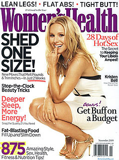 Kristen Bell on the Cover of Women's Health Magazine