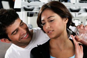 Weigh In: Flirtatious Guy at the Gym