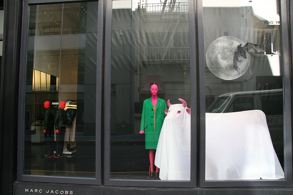 Fall Style: Marc Jacobs's Halloween Window Display