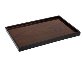 This Rosewood Vanity Tray ($75) will help organize your coffee table.