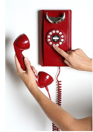 Add your own retro phone with the Crosley Kitchen Phone ($54)