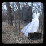 Eternal Wedding ($5) is the type of spooky display you'd hate to encounter on an abandoned country road at dusk. Ghostly and scary!