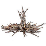 Made in Belgium, this Branch Chandelier ($5,600) is crafted from wood and iron.