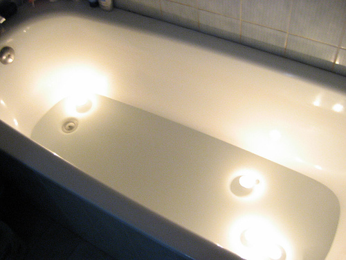 Do You Float Candles in Your Bathtub?