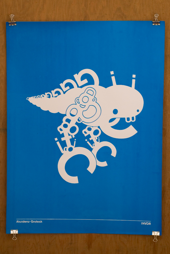 This funky Grotesk Poster ($20) features a robot I wouldn't want to encounter in a dark alley.
