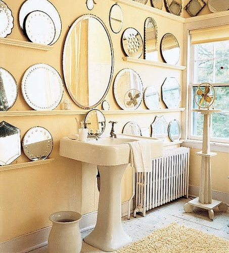 10 Ways to Create a Wall of Mirrors