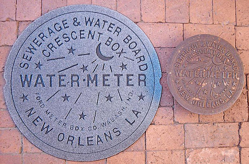 Cool Idea: New Orleans Water Meter Doormat
