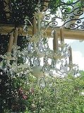 For you shabby-chic decorators on the look for outdoor lighting, this Vintage Baroque Chandelier ($325) is a must have.