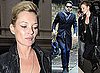 Kate Moss and Jamie Hince Out In London
