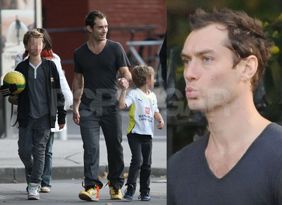Photos of Jude Law With His Children | POPSUGAR Celebrity UK
