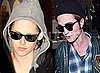 Candid Photos of Twilight Stars Kristen Stewart and Robert Pattinson at Vancouver Airport and LAX