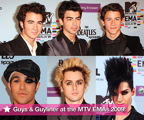 Gallery of Photos of Hot Male Celebs on the Red Carpet at the 2009 MTV Europe Music Awards
