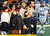 Photos of Victoria and David Beckham Watching LA Lakers Basketball Match With Cruz and Romeo