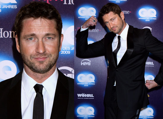 Photos of Gerard Butler GQ Men of the Year Awards