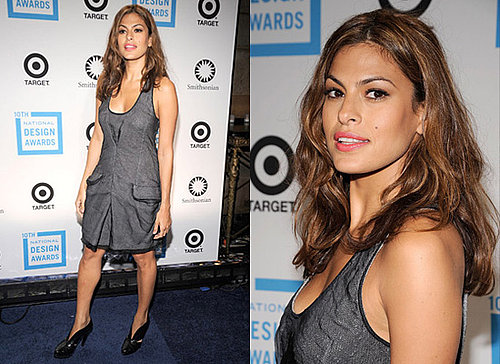 Photos of Eva Mendes at the National Design Awards