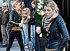 Blake Lively on Set of Gossip Girl, Serena Van Der Woodsen's leather Cross Body Bag 2009-10-20 09:36:43