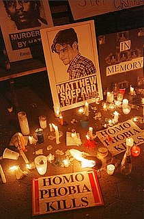 Front Page: Congress Passes Matthew Shepard Hate-Crime Bill
