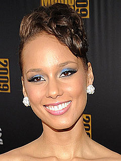 Alicia Keys's Makeup at the AMAs