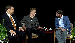 Video of Conan O'Brien and Andy Richter on Funny or Die's Between Two Ferns With Zach Galifianakis