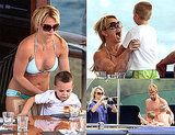 Photos of Britney Spears and Her Boys