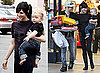 Photos of Pete Wentz and Ashlee Simpson Shopping With Bronx in LA