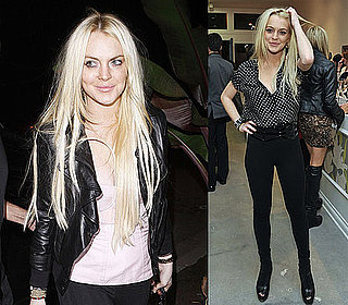 Photos of Lindsay Lohan at Rebecca Minkoff Event and Partying in LA 2009-11-16 02:00:00