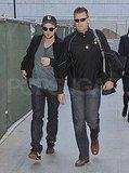 Photos of New Moon Cast at LAX