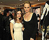 Slide Photo of Rachel Bilson and Amber Valletta at Ron Herman in LA