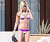Slide Photo of Ashley Tisdale in Bikini in Mexico