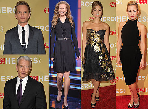 Photos of Nicole Kidman, Anderson Cooper, Kate Hudson, Eva Mendes, Dwayne Johnson, Neil Patrick Harris at CNN's Heroes Awards